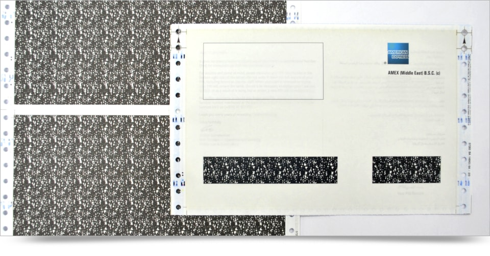 Pin/Password Mailers